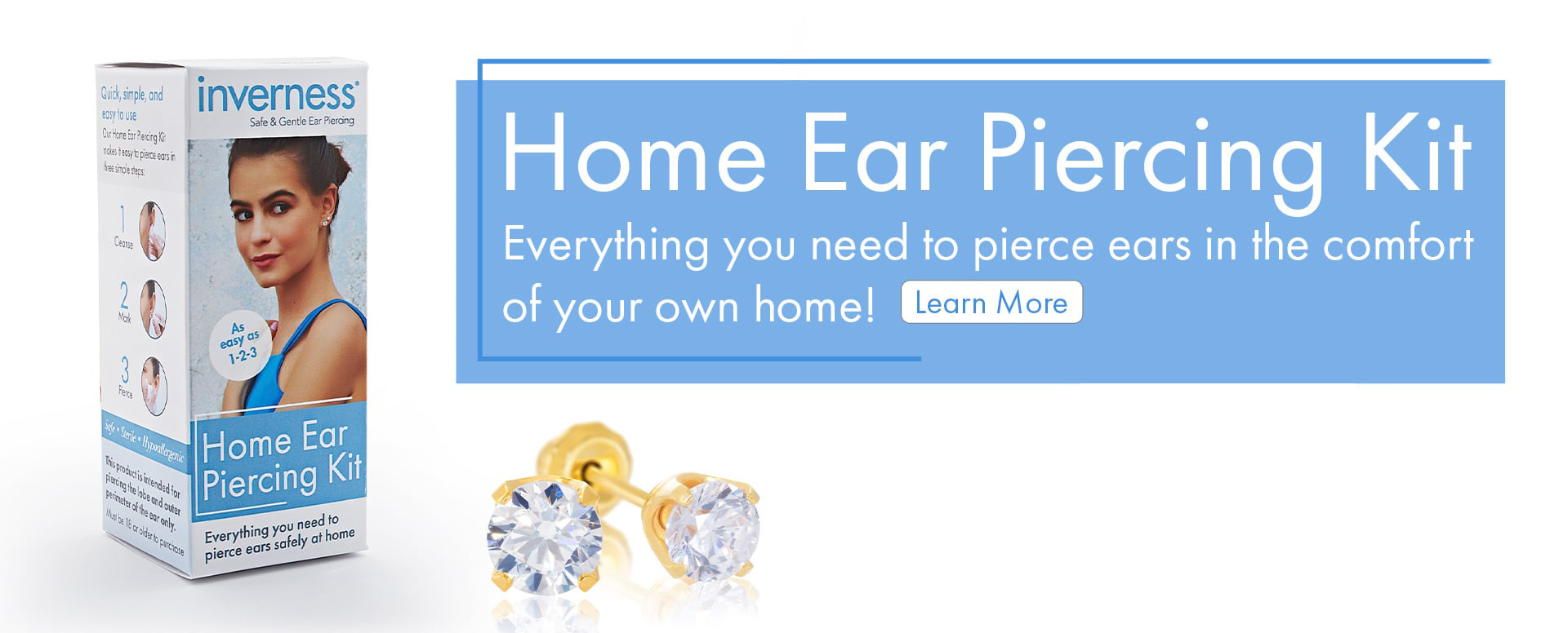 Home Ear Piercing Kit